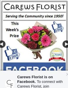 Carews Florist – Win a Beautiful Vibrant Bouquet