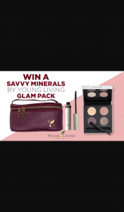 Channel 7 – Sunrise Family – Win a Young Living Savvy Mineral's Glam Pack In this Week's Sunrise Family Newsletter