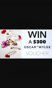 Channel 7 – Sunrise Family – Win $300 to Spend Online at Oscar Wylee In this Week's Sunrise Family Newsletter (prize valued at $300)