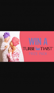 Channel 7 – Sunrise – Win a Mother's Day Prize Pack Thanks to Turbie Twist