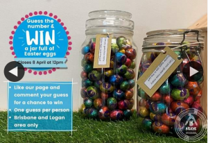 Child and Family Centre Waterford West – Win One of These Jars of Easter Eggs