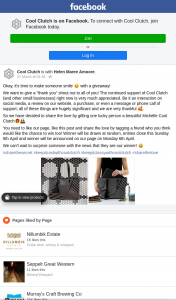 Cool Clutch – Win a Michelle Cool Clutch Bag