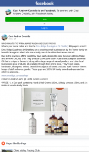 Cosi Andrew Costello – Win a Hand Wash and Duo Pack