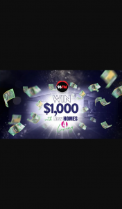 96FM – Win $1000 With New Homes 4 Living