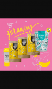 Happy Way – Follow Like & Tag to – Win Happy Way Superfood