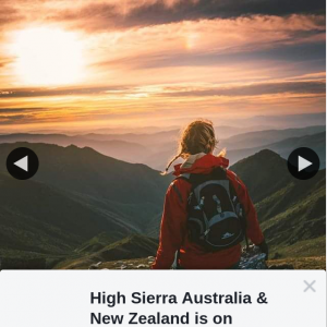 High Sierra Australia & New Zealand – Win Your Choice of Product From The New Rossby and Dell's Canyon Ranges
