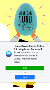 Home Sweet Home Sofas & Living – Win a Eggcellent Egg New Car Fund Money Jar