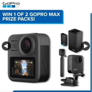JB HiFi – Win 1 of 2 Gopro Max Prize Packs