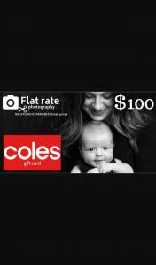 Kiddipedia – Win a $599 Photoshoot From Flat Rate Photography and 1 of 5 $100 Coles and Woolworths Giftcards (prize valued at $1,099)