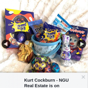 Kurt Cockburn NGU Real Estate – Win this Bunch of Goodies Simply Complete The Following