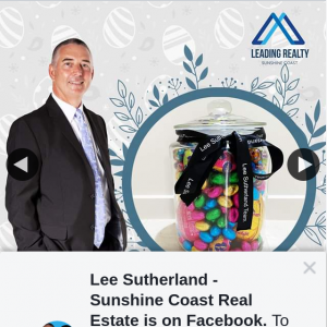 Lee Sutherland Sunshine Coast Real Estate – Win a Jar Full of Easter Eggs Must Collect