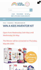 Little Kids Business – Win a Littlebits Star Wars Droid Inventor Kit Or Littlebits Avengers Hero Inventor Kit Here (prize valued at $159.95)