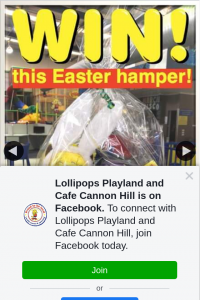 Lollipops Playland Cannon Hill – Win this Amazing Easter Hamper for Their Family