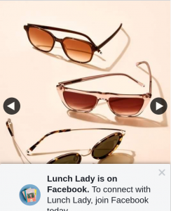Lunch Lady – Win 1/2 Sets of Sunglasses From Paradigm Eyewear 8pm