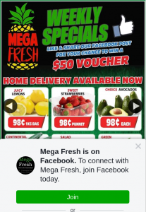 Mega Fresh Browns Plains – Win a $50 Voucher to Spend Instore