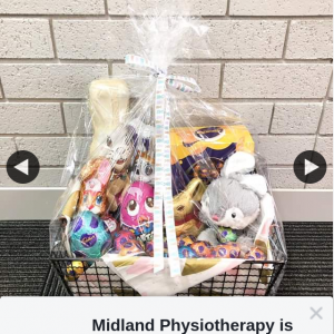 Midland Physiotherapy – Win this Eggcellent Easter Hamper All You Have to Do Is