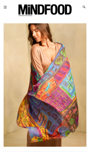 MindFood – Win this Kuna Scarf (prize valued at $359)