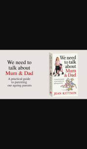 Money Magazine – Win We Need to Talk About Mum and Dad By Jean Kittson