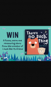 Mouths of Mums – Win 1 of 50 Copies of The Book There's No Such Thing By Heidi Mckinnon