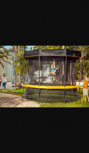 Mouths of Mums – Win The Ultimate Isolation Saviour With a Vuly Play Lift 2 Trampoline Plus a Pulse Speaker and Water Mister