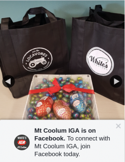 Mt Coolum IGA – Win an Easter Prize Pack