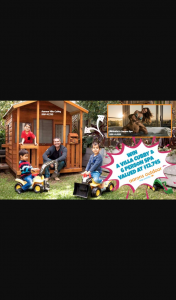 Mum Central – Win Courtesy of Aarons Outdoor (prize valued at $12,745)