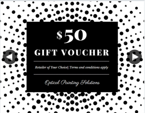 Optical Painting Solutions – Win this $50 Gift Voucher Simply Follow These Steps (prize valued at $50)