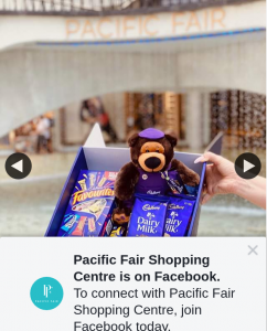 Pacific Fair Shopping Centre – Win a Cadbury Chocolate Hamper &#128048