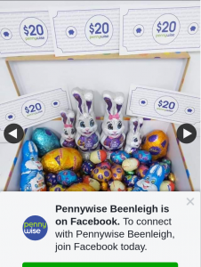 Pennywise Beenleigh – Win this Easter Hamper Full of Chocolate Goodness As Well As a $100 In-Store Voucher
