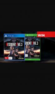 Press Start – Win Resident Evil 3 on PS4/xone