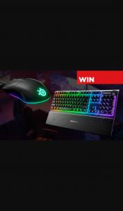 PressStart – Win a Steelseries Apex 3 Keyboard & Rival 3 Mouse