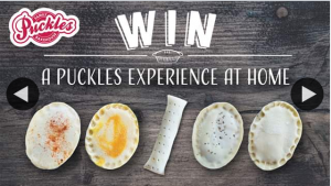 Puckles Springfield – Win 1 of 5 Frozen Pie Packs