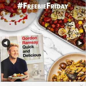 QBD Books – Win a Copy of Gordon Ramsey's Latest Cookbook