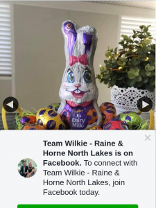 Raine & Horne North Lakes – Win an Easter Egg Basket Must Collect