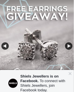 Shiels Jewellers – These Beauties (prize valued at $249)