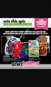 ShirtPunch – Win an Epic Zeld Pack Will