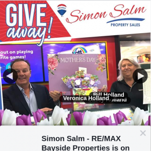 Simon Salm Re-Max Bayside Properties – Win a Scratchy and Lotto Mother's Day Gift Box From News Extra Alexandra Hills