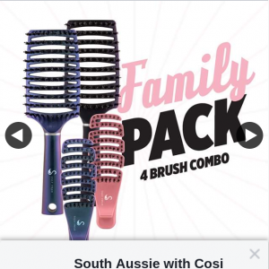 South Aussie With Cosi – Win an Ugly Swan Scream Free Brush Family Pack?