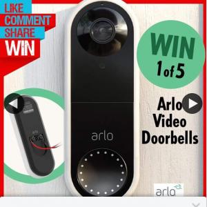 Stack magazine – Win One of Five Arlo Video Doorbells