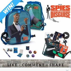 Stack Magazine – Win 1/5 Spies In Disguise Prize Pack