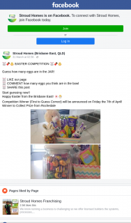 Stroud Homes – Win a Easter Hamper Must Collect