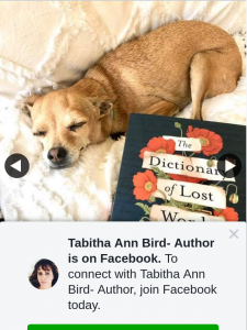 Tabitha Ann Bird Author – Win this Week We Have a Copy of The Gorgeous New Release Fiction The Dictionary of Lost Words By Debut Aussie Author Pip Williams