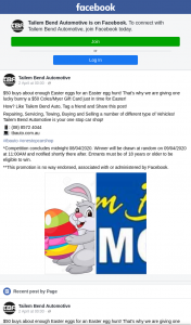 Tailem Bend Automotive – Win a $50 Coles/myer Gift Dard
