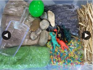 The Baby Vine – Win Dino Kit (prize valued at $30)