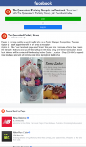 The Queensland Podiatry Group – Win a Easter Hamper