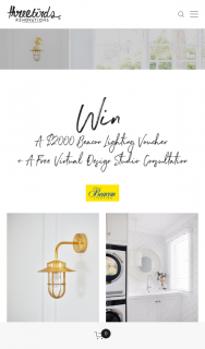 Three Birds Renovations – Win a $2000 Beacon Lighting Voucher & Virtual Design Studio Consultation