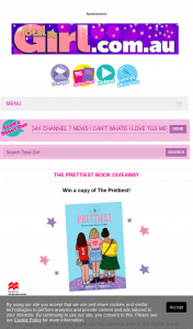 Total Girl – Win a Copy of The Prettiest (prize valued at $513)