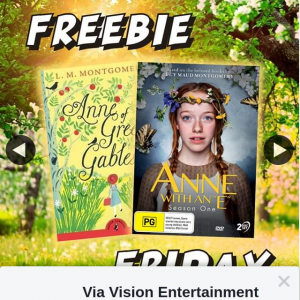 Via Vision Entertainment – Win a Copy of Anne With an E Season One DVD & Book Pack