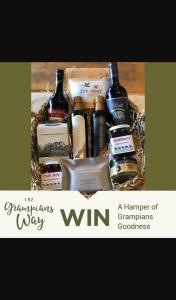 Visit Grampians – Win this Incredible Hamper (prize valued at $250)