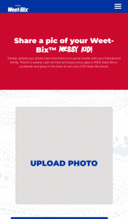 Weet-bix – Win One of 50 Weet-Bix Bowls (prize valued at $5,000)